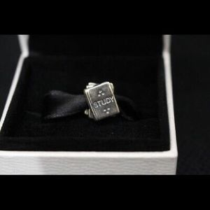 Pandora stack of books charm - teacher